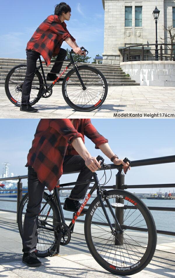 モデル クロスバイク 700C 自転車 27インチ