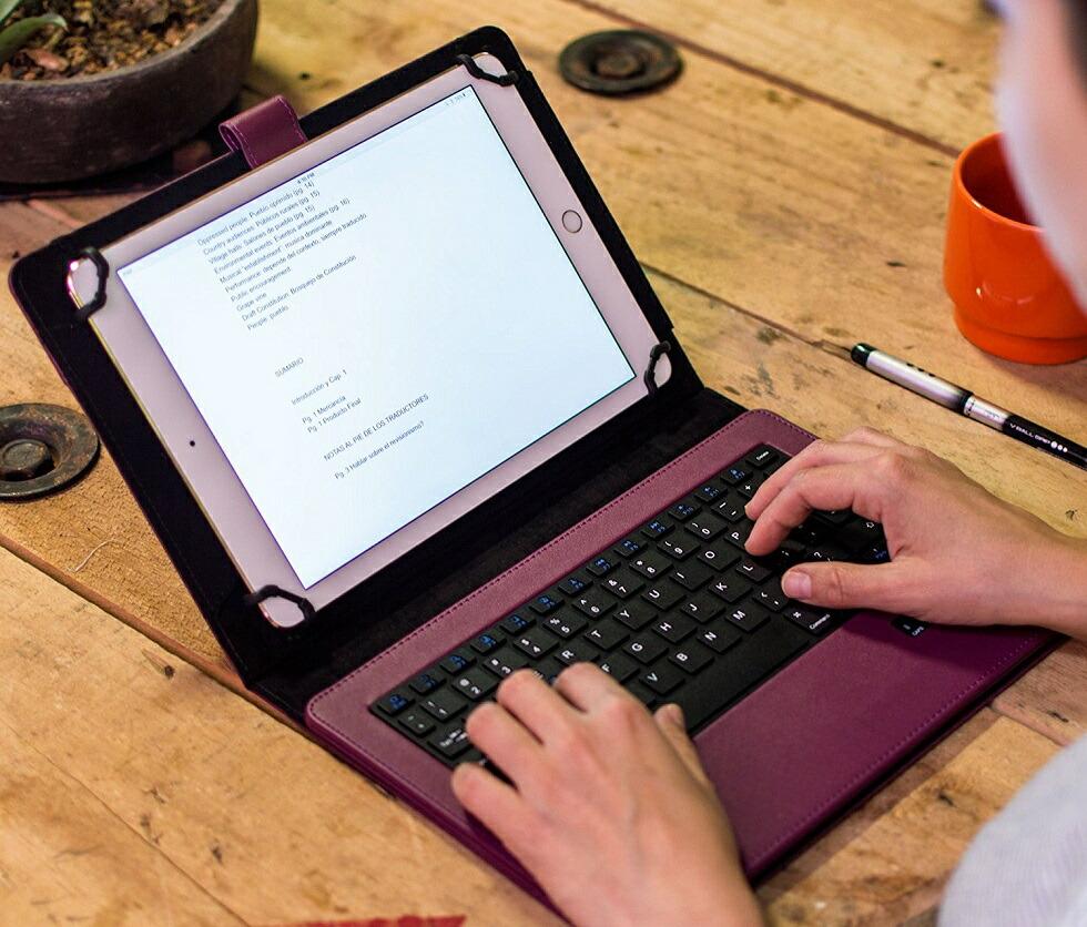 d507fda0a0 【楽天市場】タブレット ケース キーボード 汎用 7インチ 8インチ 9インチ 9.7 10インチ 10.1 11インチ 12インチ ワイヤレス  Bluetooth シンプル おしゃれ カバー iPad ...