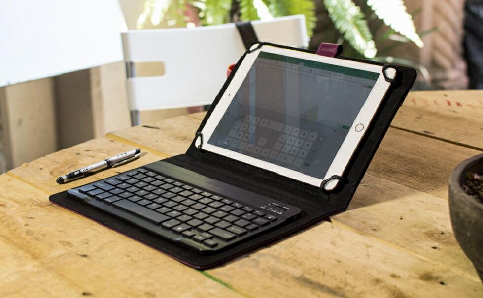 e848fbf6d1 【楽天市場】タブレット ケース キーボード バックライト Bluetooth ワイヤレス タブレットケース シンプル カバー 7インチ 8インチ  9インチ 10インチ 10.1インチ ...