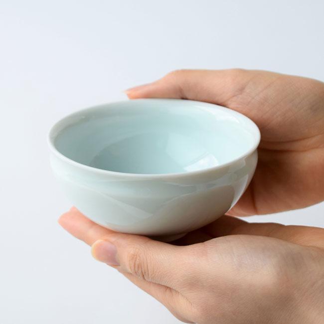 月の雫お茶呑茶碗