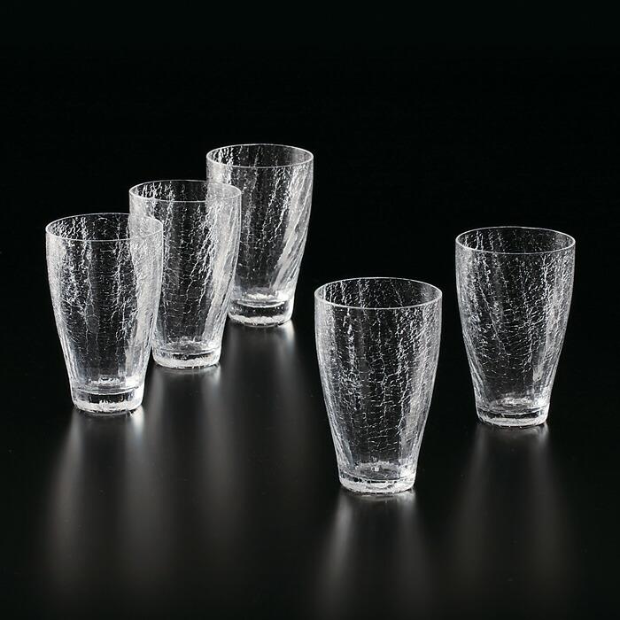 雪あかり グラス 5個