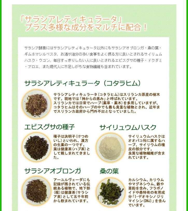 サラシア商品説明3