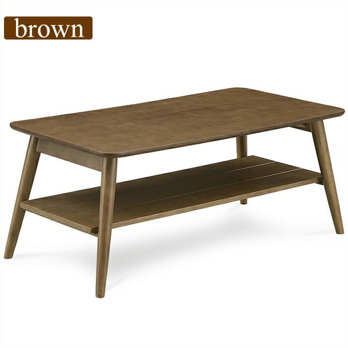 リビングテーブル センターテーブル 幅105cm オーク突板 木製 北欧モダン ローテーブル 収納棚付き 折れ脚テーブル 折りたたみ