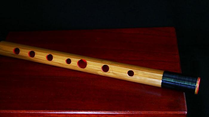 篠笛の指穴部分
