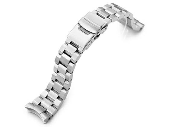 22mm TAIKONAUT メタル時計バンド ステンレススチール ヘクサッド オイスター ブレスレット for SEIKO DIVER