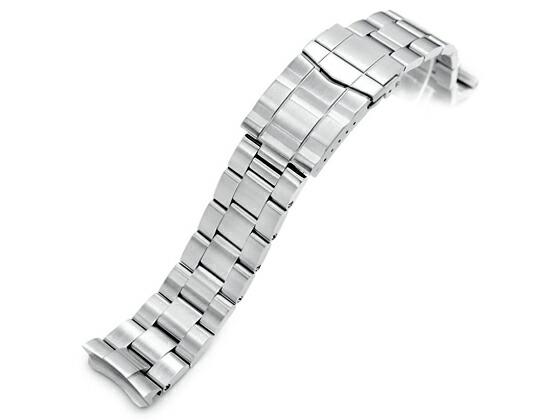 22mm TAIKONAUT メタル時計バンド ステンレススチール オイスター ブレスレット サブマリーナクラスプ for SEIKO DIVER