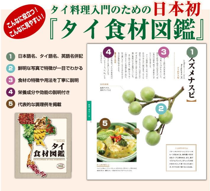 日本初タイ料理の食材図鑑