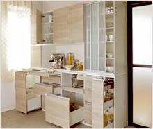 ハイアット ユニット食器棚