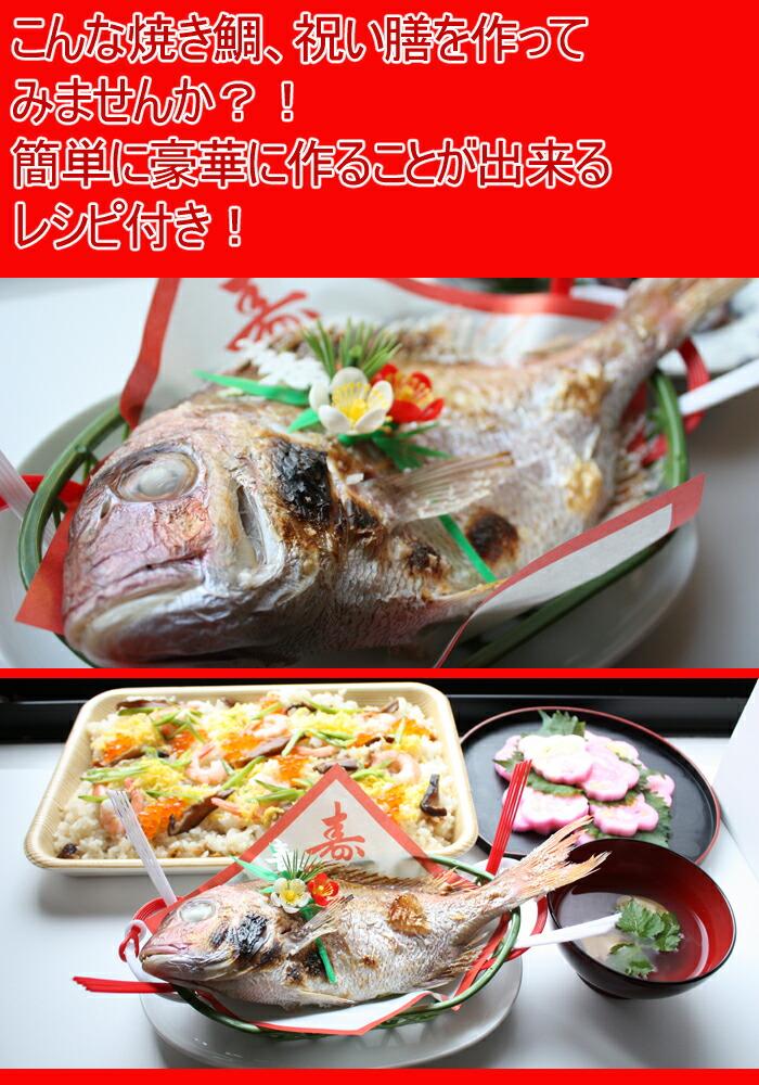 お食い初め 祝い鯛 焼き鯛