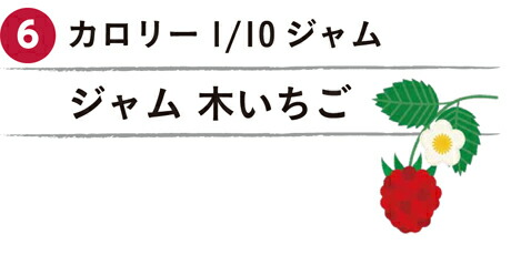 カロリー1/10ジャム 木いちご