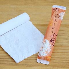 使い切りおしぼり みやこわすれ丸型和紙
