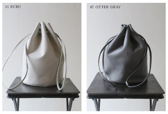 evam eva エヴァムエヴァ drawstring bag ドローストリングバッグ