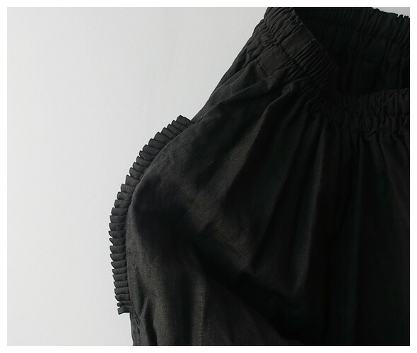 homspun ホームスパン リネンバイオギャザースカート 4489の商品ページです。