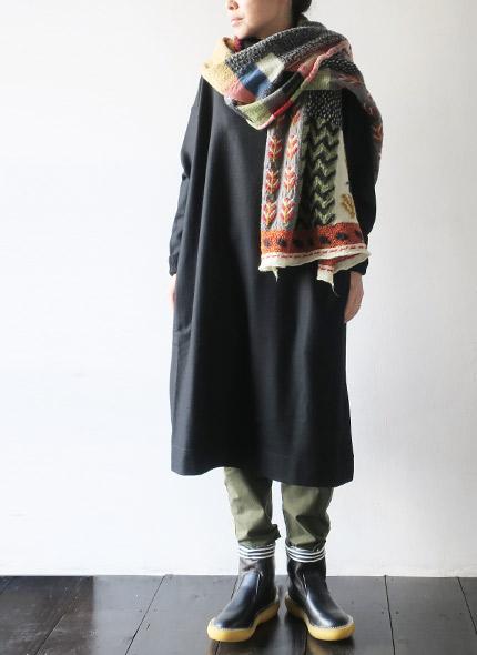 KAPITALのブーツのモデル着用画像