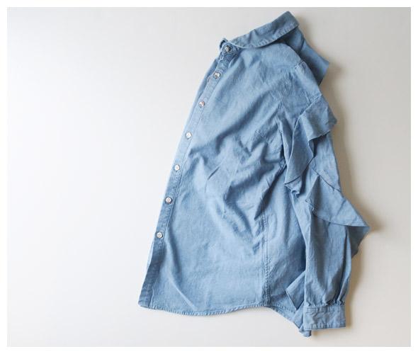 KAPITAL(キャピタル) シャンブレー フリルスリーブシャツ k1909ls009の商品ページです。