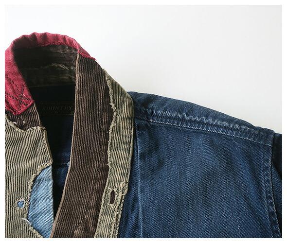 KAPITAL(キャピタル) デニムシャツ EK-759の商品ページです。
