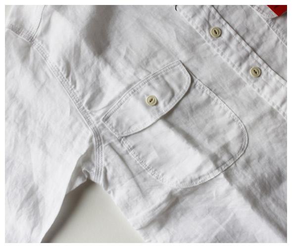 KATO' BASICのシャツの詳細画像