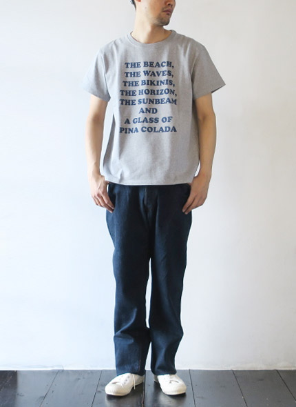 KATOのデニムのモデル着用画像