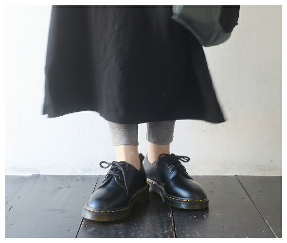 Dr.Martens 1461 PASCAL VERSO SMOOTH LEATHER OXFORD SHOES - BLACK ドクターマーチン 1461 パスカル