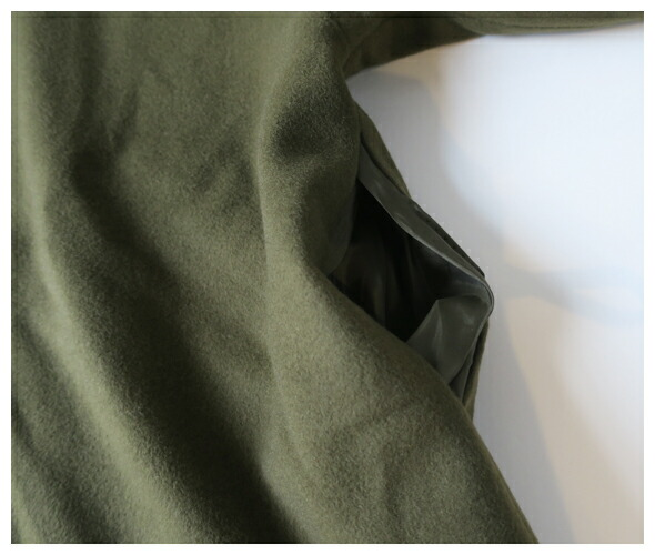 Honnete オネット Shawl Collar Short Cardy Italian Cashmere Mix Melton ショールカラーカーディガン