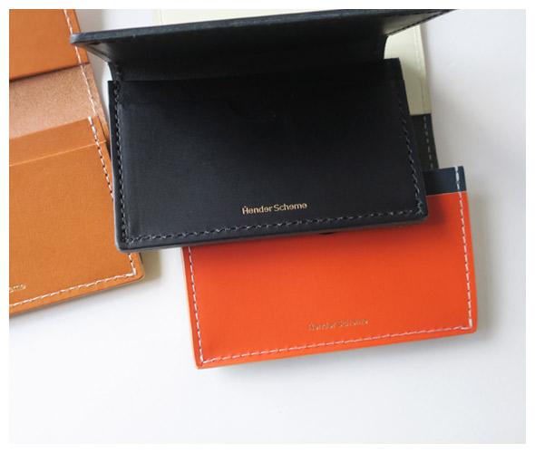 Hender Scheme エンダースキーマ folded card case フォールデッドカードケース