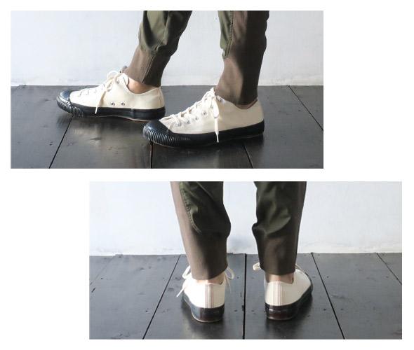 PRASのスニーカーのモデル着用画像