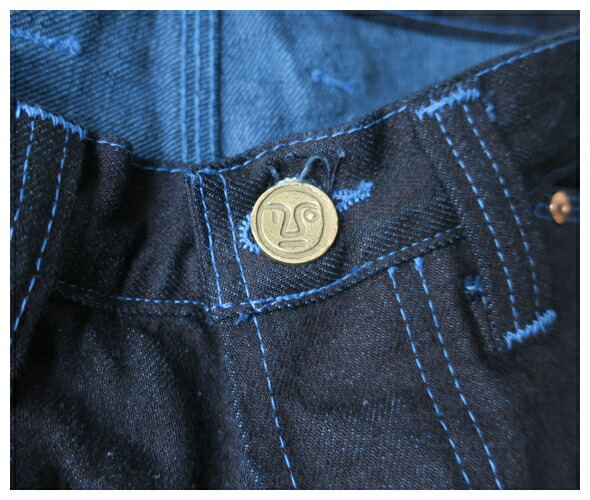 TENDER Co. テンダーコー 10TH Anniversary WIDE JEANS WOAD TYPE 132 ジーンズ