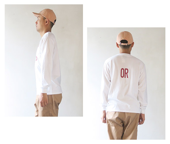 THE DAY ON THE BEACH ザデイオンザビーチ Long sleeve pocket-T B.R. in PORTLAND Tシャツ
