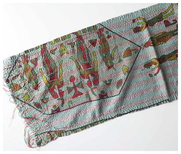 TIGRE BROCANTEのスカーフの詳細画像