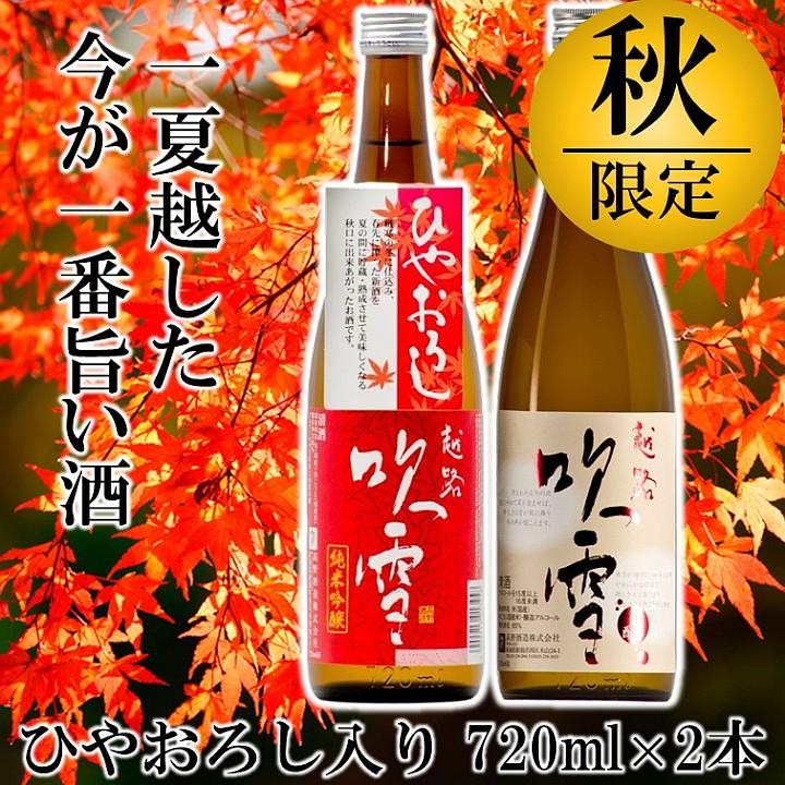 日本酒 飲み比べセット 720ml ひやおろし