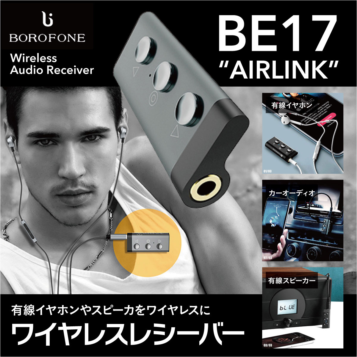 Wireless receiver wireless earphone wireless earphone headset headphones  Bluetooth iphone both ears sports earphone hands-free wireless earphone