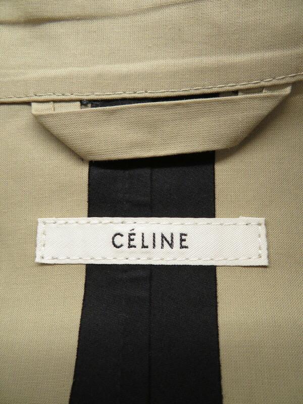 5a9379f11f22 【CELINE】【アウター】セリーヌ『トレンチコート size38』レディース 1週間保証【中古】