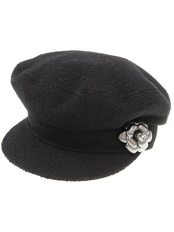774f1bda7a31 【CHANEL】シャネル『コサージュ付きキャスケット sizeM』レディース 帽子 1週間保証【中古】