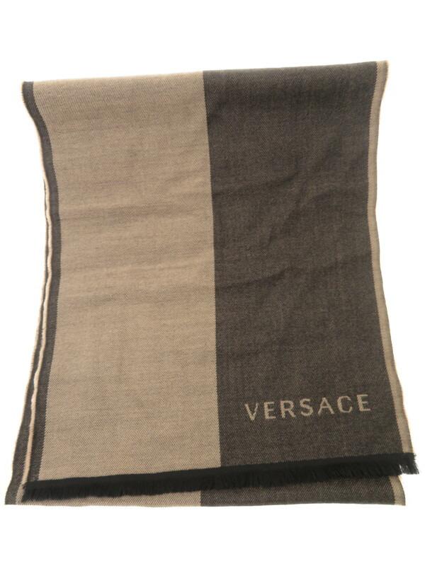 6916f9f160be 【Versace】【マフラー】ヴェルサーチ『ストール』ユニセックス マフラー 1週間保証【中古】