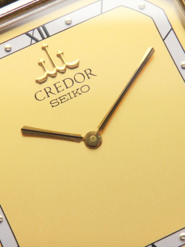 【SEIKO】【CREDOR】【14K YGケース】【電池交換済】セイコー『クレドール』 GKEL964 33****番 メンズ クォーツ 1週間保証【中古】