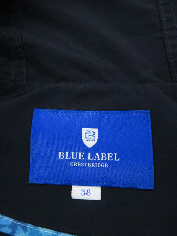 【BLUE LABEL CRESTBRIDGE】【アウター】ブルーレーベルクレストブリッジ『フード付ジップアップジャケット size38』55F04-303-29 レディース 1週間保証【中古】