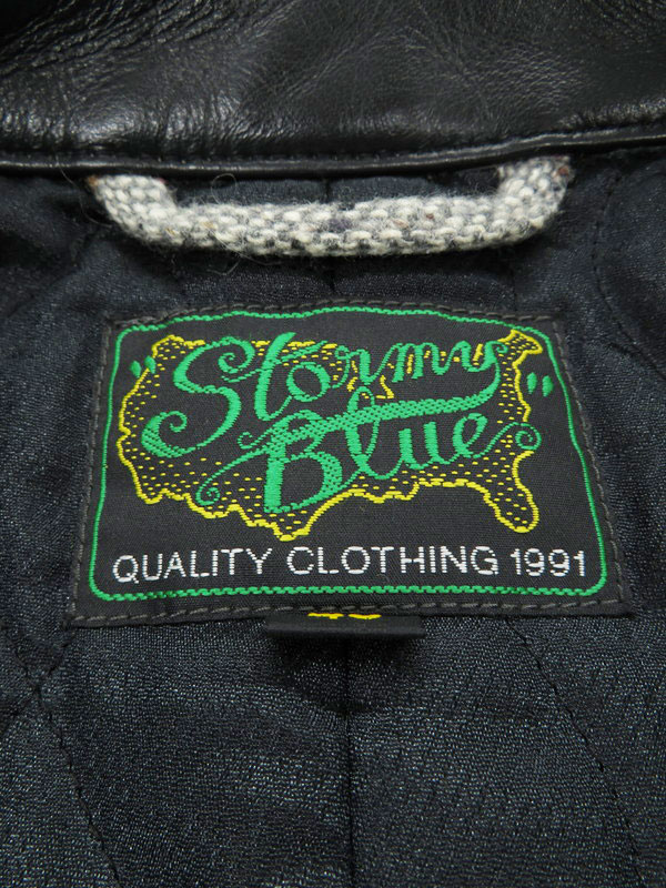 【Pherrow's】【Stormy Blue】【ストミーブルー】【日本製】【アウター】フェローズ『切替ジャケット size40』メンズ 1週間保証【中古】