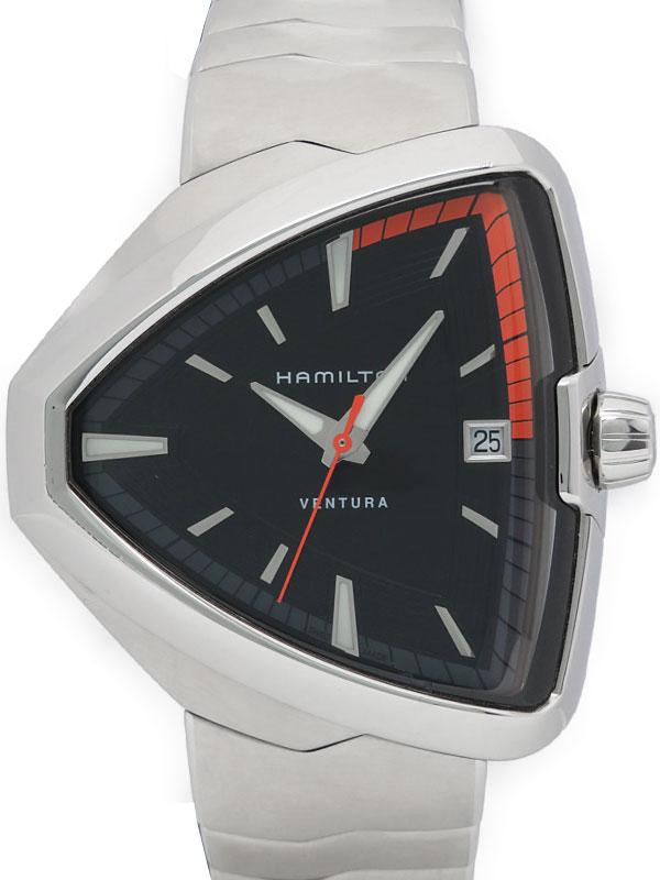 【HAMILTON】ハミルトン『ベンチュラ エルヴィス80』H24551131 メンズ クォーツ 1ヶ月保証【中古】