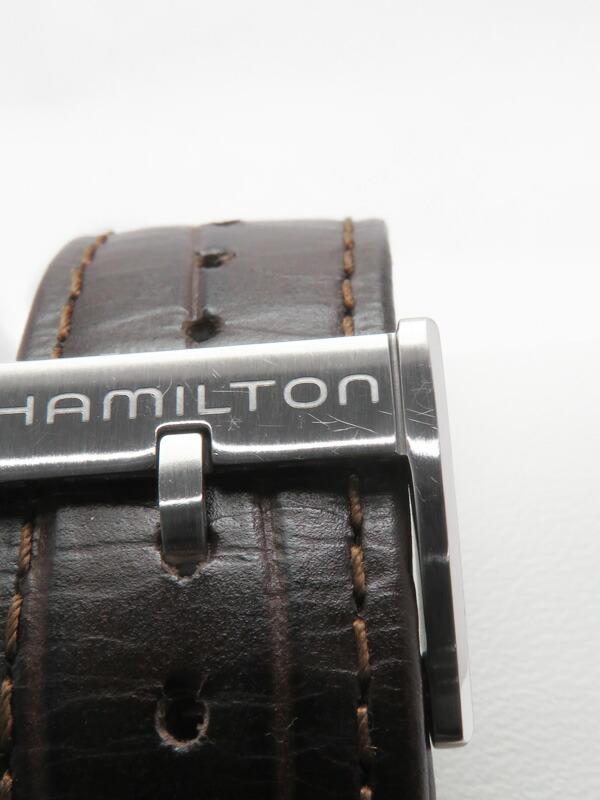 【HAMILTON】【裏スケ】ハミルトン『ジャズマスタービューマチックオープンハート』H32565595 メンズ 自動巻き 1ヶ月保証【中古】