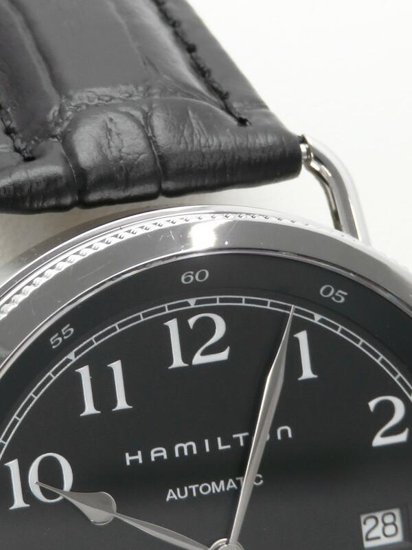 【HAMILTON】【裏スケ】ハミルトン『カーキネイビー パイオニア』H78415733 メンズ 自動巻き 1週間保証【中古】