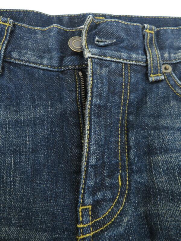 【SAINT LAURENT】【ジーパン】【D02 M/SK-LW】【イタリア製】サンローラン『ジーンズ size27』メンズ デニムパンツ 1週間保証【中古】