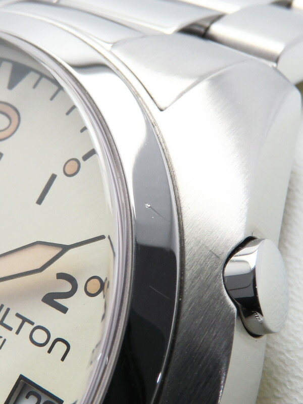 【HAMILTON】ハミルトン『カーキ パイロット パイオニア クロノグラフ』H76512155 メンズ クォーツ 1週間保証【中古】