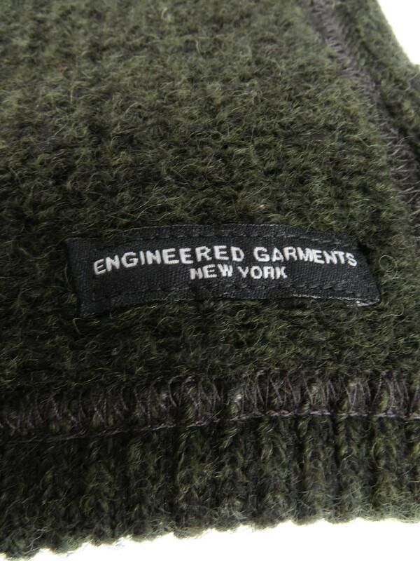 【ENGINEERED GARMENTS】【アメリカ製】エンジニアドガーメンツ『ボタン付きマフラー』メンズ 1週間保証【中古】