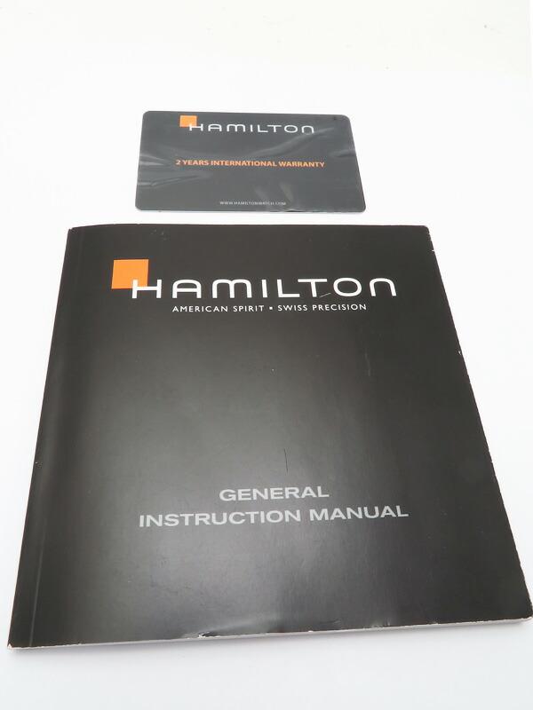 【HAMILTON】ハミルトン『ジャズマスター クロノグラフ』H32612135 メンズ クォーツ 1週間保証【中古】