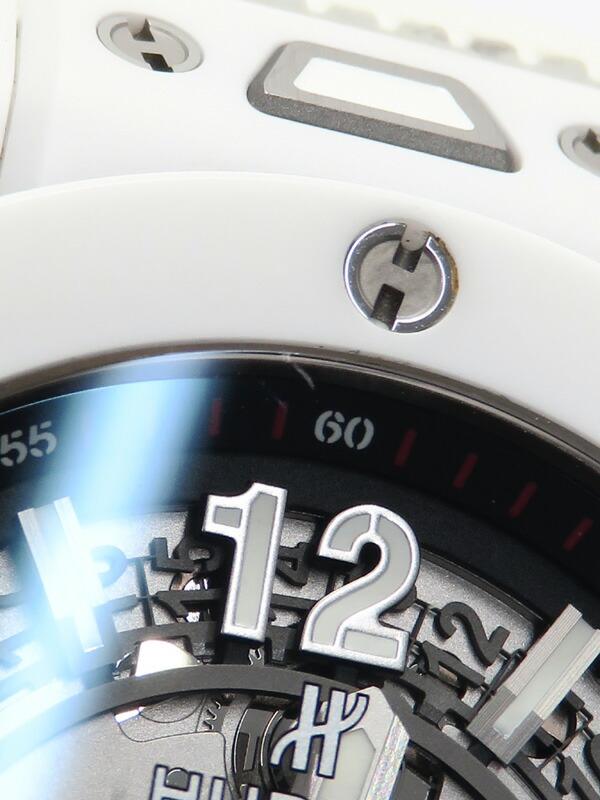 【HUBLOT】【裏スケ】ウブロ『ビッグバン ウニコ』411.HX.1170.RX メンズ 自動巻き 6ヶ月保証【中古】