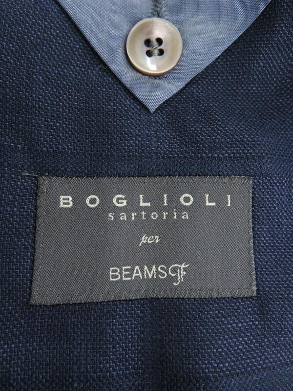 【BOGLIOLI】【BEAMS F別注】【イタリア製】【アウター】ボリオリ『テーラードジャケット size42』H3302V メンズ ブレザー 1週間保証【中古】