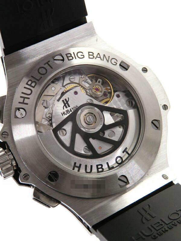 【HUBLOT】【裏スケ】【内部点検・仕上済】ウブロ『ビッグバン クロノグラフ』301.SX.130.RX.114 メンズ 自動巻き 6ヶ月保証【中古】