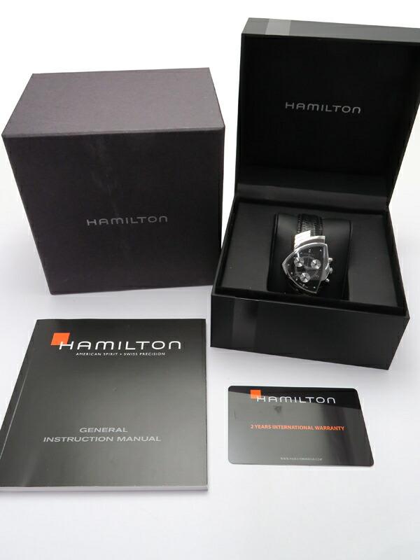 【HAMILTON】ハミルトン『ベンチュラ クロノグラフ』H24412732 メンズ クォーツ 1週間保証【中古】