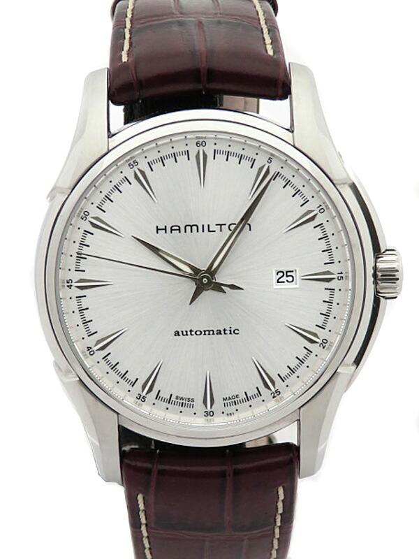 【HAMILTON】【裏スケ】ハミルトン『ジャズマスタービューマチック』H32715551 メンズ 自動巻き 1週間保証【中古】