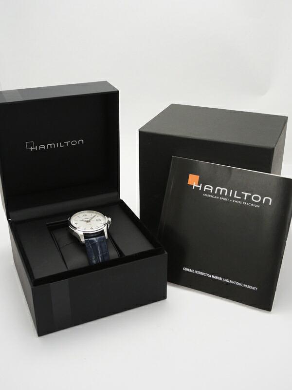 【HAMILTON】【裏スケ】ハミルトン『ジャズマスター ビューマチック』H32515555 メンズ 自動巻き 1週間保証【中古】